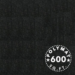 SIZE: 150FT x 4FT Polymat™ Series-25 Black